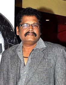 K. S. Ravikumar at the first look launch of 'Policegiri' (cropped).jpg