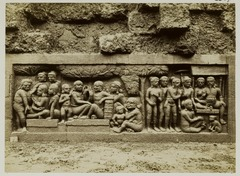 KITLV 28075 - Kassian Céphas - Relief of the hidden base of Borobudur - 1890-1891.tif