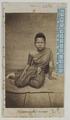 KITLV 6552 - Isidore van Kinsbergen - Siamese woman at Bangkok - 1862.tif