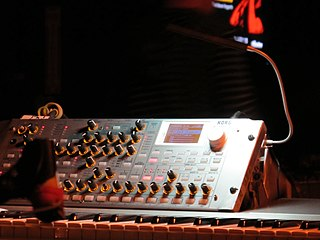 Korg RADIAS Korg synthesizer
