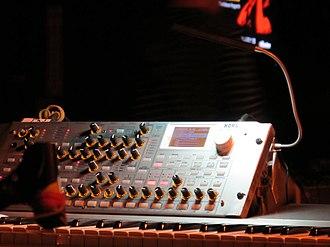 MicroKORG - Image: KORG RADIAS on stage