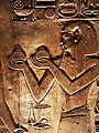 KV17, the tomb of Pharaoh Seti I of the Nineteenth Dynasty, Chamber I (so-called Room of Beauties), detail of Seti I, Valley of the Kings, Egypt (49846644752).jpg