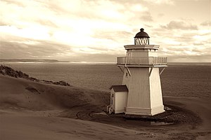 Kaipara Harbour -  Kaipara lighthouse, 2012