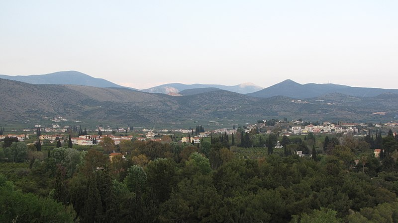 ファイル:Kallithéa and Drepano villages in the municipality of Asini, Greece.JPG