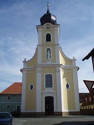 Itzgrund - Saint Wolfgang Church in Kaltenbrunn