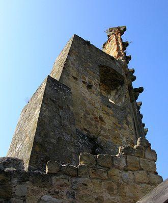 Zemsta - Ruins of Kamieniec Castle in Odrzykoń