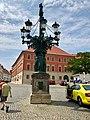 Kandelábr, Loretánská, Hradčany, Praha, Hlavní Město Praha, Česká Republika (48790886351).jpg