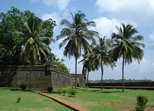 Portuguese India - Fort St. Angelo, Cannanore