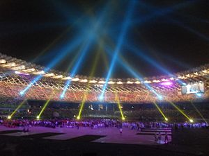 2009 World Games - World Games 2009 opening ceremony.