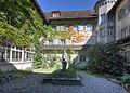Kapuzinerkloster Solothurn - Kreuzgang Innenhof HDR.jpg