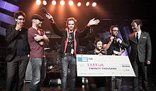 Karkwa at the polaris music prize gala 2010 by dustin rabin.jpg