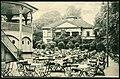 """Karl F. Wunder PC 1168 Städtische Gartenwirtschaft """"Bella-Vista"""" Hannover Inh. Aug. Seeger Fernspr. N 1677 Bildseite 1824 Laves klassizistische Villa Minister Caspar David von Schulte, Rotunde f. Musikkapelle.jpg"""