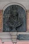 Karl von Littrow (1811-1877), Nr 96 bust (bronze) in the Arkadenhof of the University of Vienna-2379a-HDR.jpg