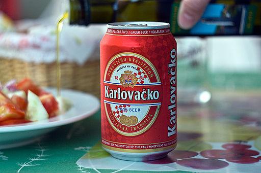 Karlovačko beer can