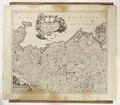 Karta över nordvästra Tyskland - Skoklosters slott - 97992.tif