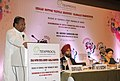 """Kavuru Sambasiva Rao addressing at the release of a report on cotton textile industry titled """"Cost Benchmarking Study – India vis-à–vis Bangladesh, Indonesia, Egypt, China, Pakistan and Turkey"""", in New Delhi on July 25, 2013.jpg"""