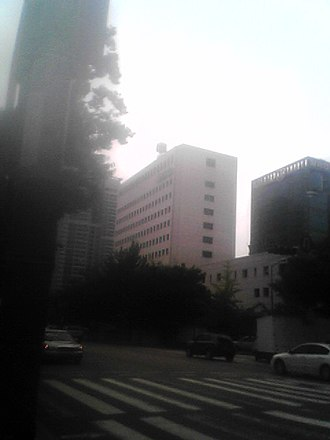 Tongyang Broadcasting Company - The former TBC offices in Yeouido, later the KBS Annex