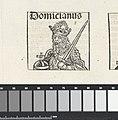 Keizer Titus Flavius Domitianus Domicianus (titel op object) Liber Chronicarum (serietitel), RP-P-2016-49-51-8.jpg