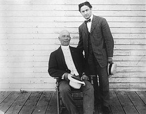 Harry Kellar - Kellar with Harry Houdini in 1915