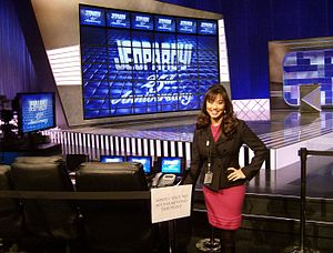 Jeopardy! - Kelly Miyahara of the Clue Crew at the International CES in Winchester, Nevada