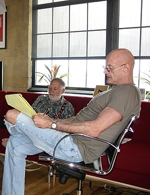 Ken Wilber - Wilber with Bernard Glassman (background)