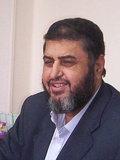 Khairat el-Shater Muslim Brotherhood leader