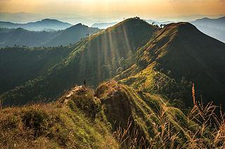 Thong Pha Phum District District in Kanchanaburi, Thailand