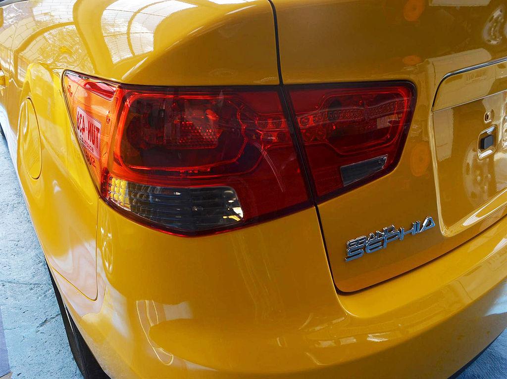 Kia Grand Sephia - Backjpg