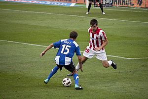 Kiko Femenia Hércules-Athletic jornada1 2010-11.jpg