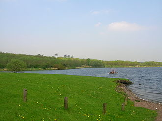 Kilbirnie Loch - The loch from the southern end