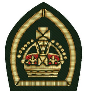 Queen's Scout - The original insignia of a King's Scout
