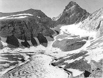 """Junction Peak - """"Junction Peak"""" by Ansel Adams, circa 1930s."""