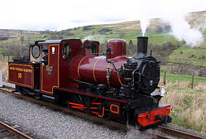 South Tynedale Railway - Image: Kirkhaugh Station geograph.org.uk 1851