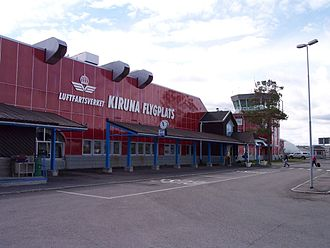 Kiruna Airport - Image: Kiruna flygplats