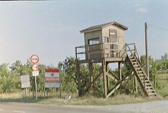 Kittsee - Kittsee former border crossing