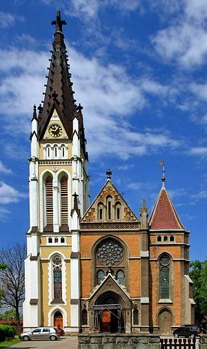 Český Těšín - The Parish Church of the Sacred Heart of Jesus