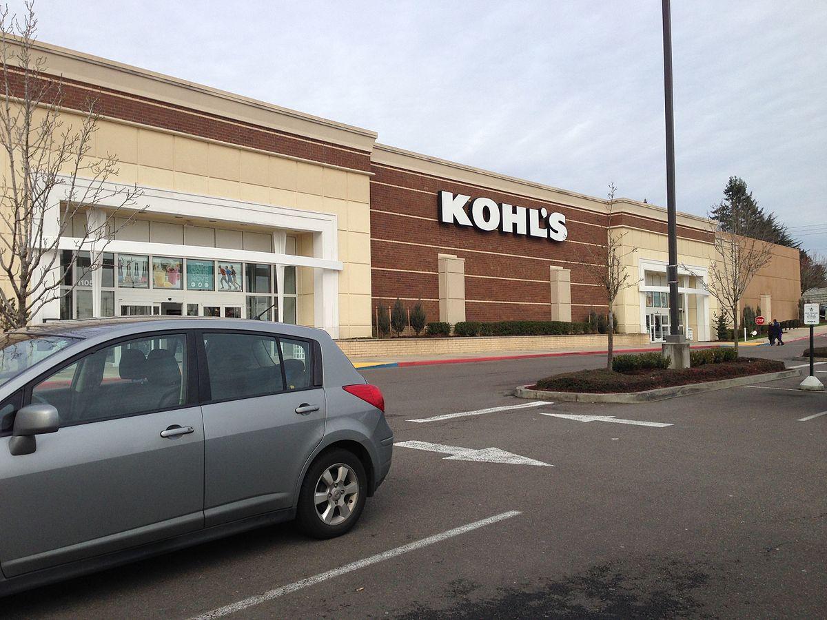 Kohl clothing store