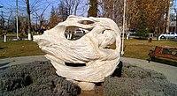 Komitas sculpture in Komitas park, Yerevan (1).jpg
