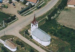 Komlódtótfalu - Aerialphotography of Komlódtótfalu