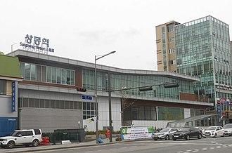 Sangbong station - Gyeonguijungang, Gyeongchun