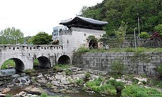 Hongji-dong Place in South Korea