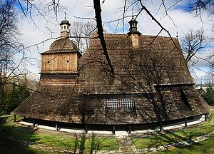 Wooden churches of Southern Lesser Poland - Image: Koscioł Sekowa calosc