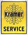 Kramer Service, enamel advertising sign.JPG