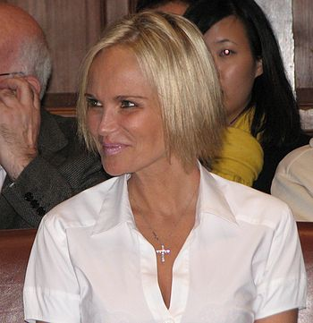 English: Kristin Chenoweth at the Oxford Union