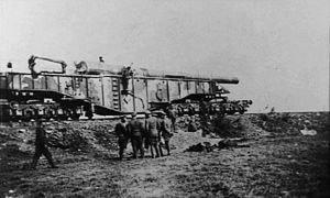 Krupp K5 - Image: Krupp K528cm Railway Gun 1945