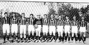 Kuopion Palloseura - First team in 1923