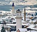Kulla e Sahatit - Xhamia - Kisha - Gjakovë.jpg