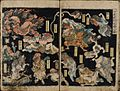 Kunisada - The Night Parade of One Hundred Demons (Hyakki yagyo) 1825.jpg