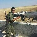 Kurdish YPG Fighter (21275343385).jpg