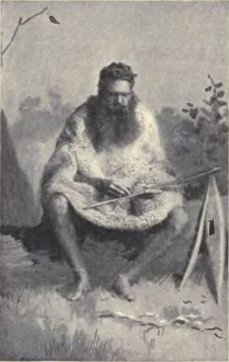 Alfred William Howitt - Scan of illustration from p. 40 of The native tribes of South-East Australia, 1904